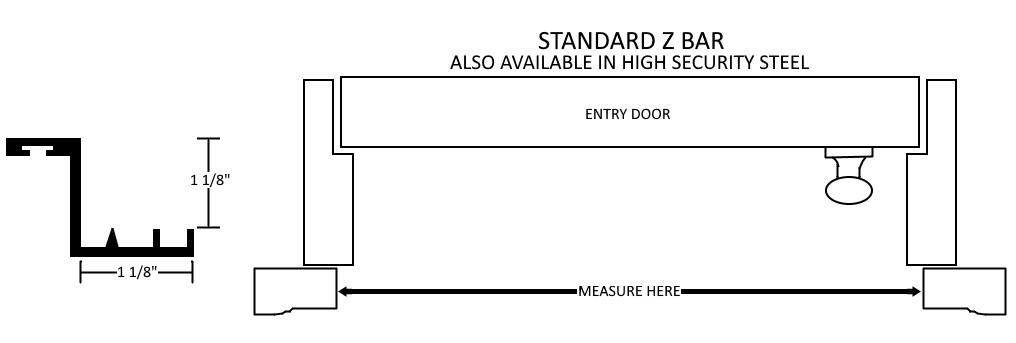 Standard Z Bar