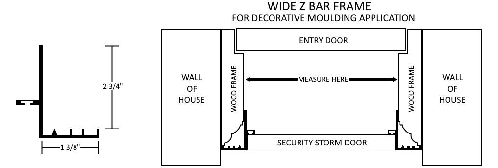 Wide Z Bar Frame